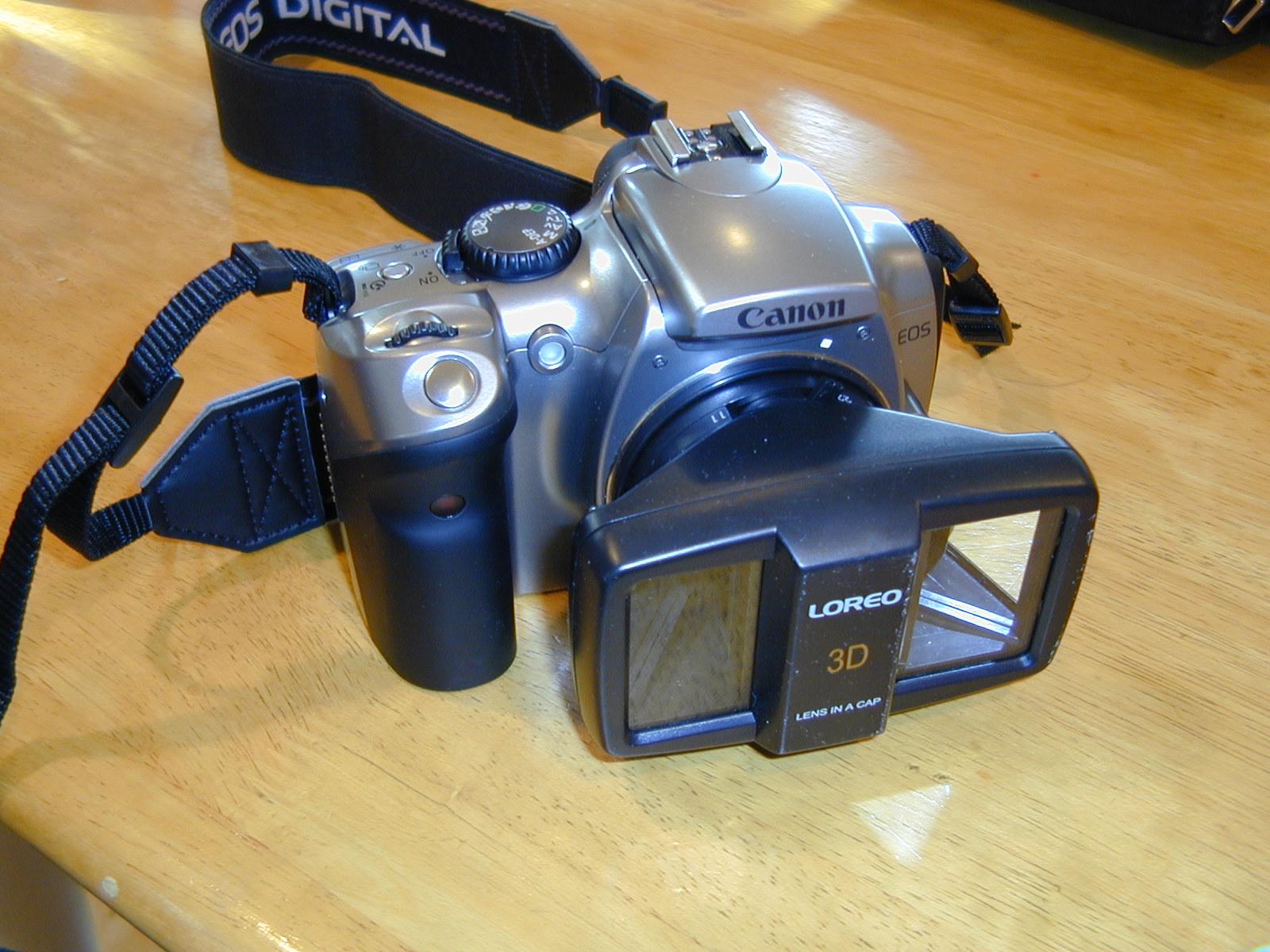 Camera 3d Dslr Camera thin blue line 3d camera camera