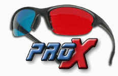 Pro-X Anaglyph Glasses
