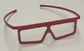 ChromaDepth HD with plastic frames, 3D Glasses