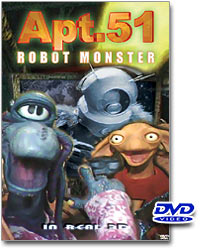 Apartment 51 Robot Monster 3D DVD