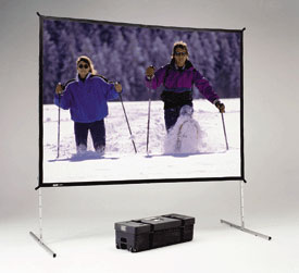 Rear projection frame and Screen 8' x 12'