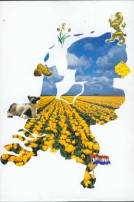 Holland 7 3D Greeting Card