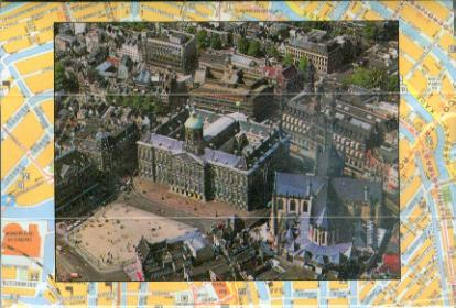 Amsterdam 2 3D Greeting Card