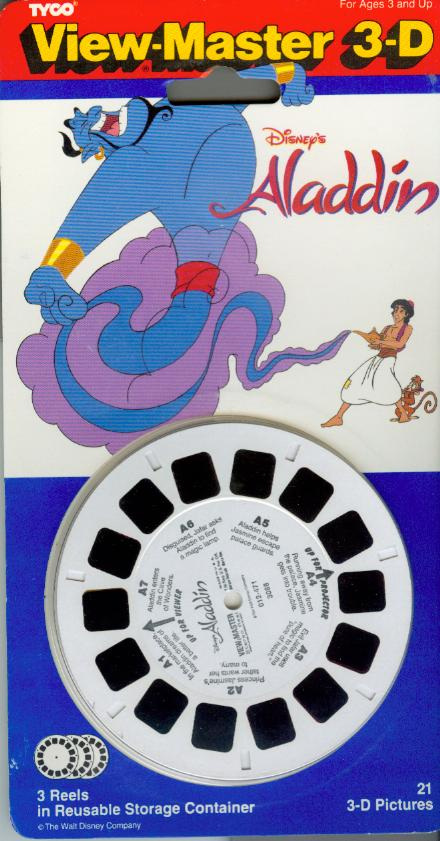 Aladdin Viewmaster Reel