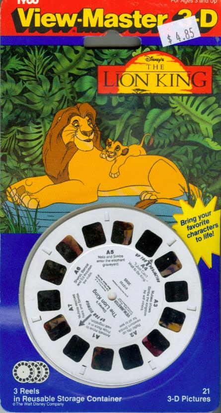 Lion King Viewmaster Reel
