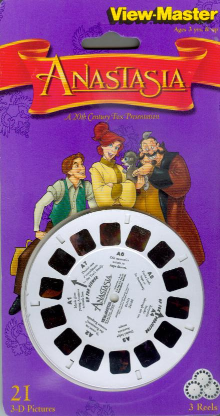 Anastasia Viewmaster Reel
