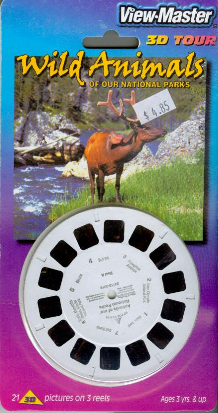 Wild Animals Viewmaster Reel