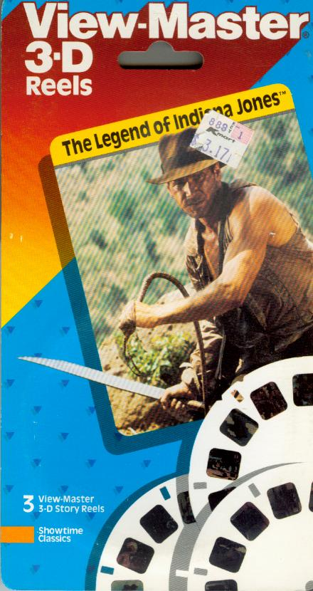 Legend of Indiana Jones Viewmaster Reel