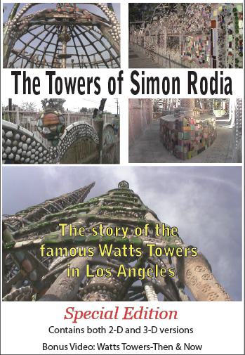 Watts Towers in 3D